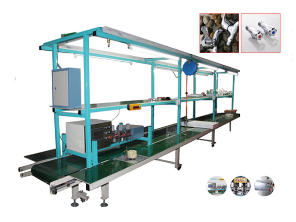 Pipeline Faucet Assembling and Gas Testing Machine